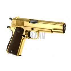 M1911 Full Metal GBB Gold WE
