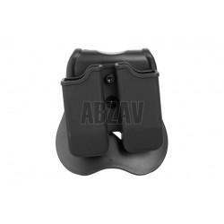 Double Mag Pouch pour M9 / P226 / P99 Black Cytac