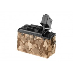 Boxmag M249 1200rds Tan Classic Army
