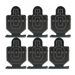 ACM Practice target (Pack of 6) (VB)